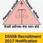 DSSSB TGT PGT Recruitment 2017 Apply Online for 15033 TGT PGT PRT & JE Posts at www.delhi.gov.in