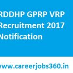 RDDHP GPRP VRP Recruitment 2017 Apply for 402 Village Resource Person Posts at www.hprural.nic.in