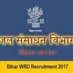 WRD Bihar Recruitment 2018 Notification Apply for 2500+ Engineer Posts at www.wrd.bih.nic.in