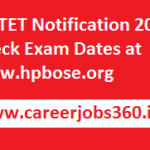 HP TET Notification 2017 Check Online Application Form Available at www.hpbose.org