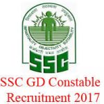 SSC GD Constable Recruitment 2017 for 57000+ Constable Vacancies at www.ssc.nic.in