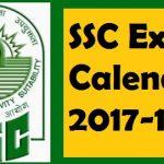 SSC Exam Calendar 2017-18 Check SSC Notification Exam Dates Here