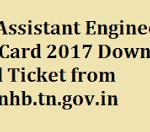 TNHB Junior Assistant Admit Card 2017 Download TNHB Exam Hall Ticket at www.tnhb.tn.gov.in