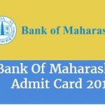 Bank of Maharashtra Admit Card 2017 Download Sub Staff Exam Hall Ticket at www.bankofmaharashtra.in