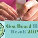 Goa HSSC Result 2018 Download Goa 12th Class Board Result at www.gbshse.gov.in