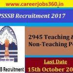 HPSSSB Recruitment 2017 Notification for 2945 Teaching & Non-Teaching Vacancies @hpsssb.hp.gov.in