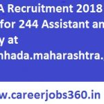 MHADA Recruitment 2018 Apply Online for 244 JE, Assistant Vacancies at www.mhada.maharashtra.gov.in