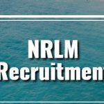 NRLM Recruitment 2018 Apply Online for 155 Regional Coordinator, Block Assistant Posts at www.nrlm.gov.in