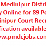 Paschim Medinipur Court Recruitment 2017 Apply Online for 89 LDC Posts at www.pmdcjobs.com