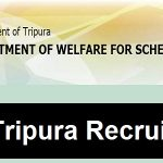 Tripura TWD Recruitment 2017 Apply for 161 Group C & D Posts at www.tripurawelfare.nic.in