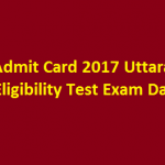 USET Admit Card 2018 Download Uttarakhand SET Exam Hall Ticket at www.usetonline.com