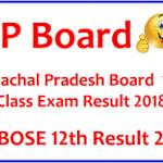 HPBOSE 12th Result 2018 Check Himachal Pradesh HPBOSE Result at www.hpbose.org