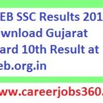 GSEB SSC Results 2018 Check Gujarat Board 10th Result at gseb.org.in