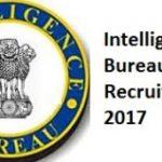 Intelligence Bureau Recruitment 2017 Apply Online for 57 Deputy Director, Joint Deputy Director, Assistant Director Posts
