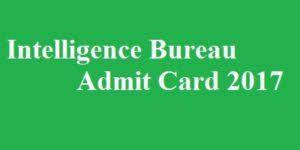 Ib ii 2013 download exe post acio admit card mha of for