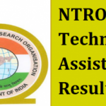 NTRO Technical Assistant Result 2017 Download NTRO TA Exam Merit List at www.ntro.gov.in