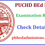 Punjab B.Ed Result 2017 Download PU B.Ed Cut off Marks at www.pbbedadmission.puchd.ac.in