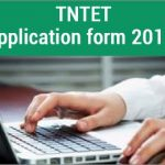 TN TET Application Form 2018 Tamil Nadu TET Notification Available at www.trb.tn.nic.in