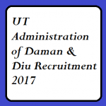 Daman & Diu UT Administration Recruitment 2017 For 164 Constable Excise Guard & Other various Posts