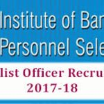 IBPS SO Recruitment 2018 Apply for 1599 IBPS Specialist Officer Notification at www.ibps.in