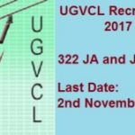 UGVCL Recruitment 2017 Apply Online For 322 Junior Assistant & Junior Engineer Posts at www.ugvcl.com