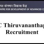 CDAC Thiruvananthapuram Recruitment 2018 Apply for Graduate Apprentice Posts at www.cdac.in