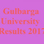 Gulbarga University Result 2017 Download MA, BA, B.Sc, BCA, B.Com, M.Com Exam Result at www.gulbargauniversity.kar.nic.in