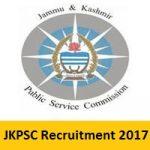 JKPSC Recruitment 2017 Apply Online for 66 Medical Officer Posts at www.jkpsc.nic.in