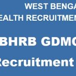 WBHRB GDMO Recruitment 2018 Apply for 1098 General Duty Medical Officer Posts at www.wbhrb.in