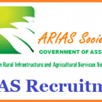 ARIAS Society Recruitment 2017 Apply for 52 Agriculture Specialist Posts at www.arias.in