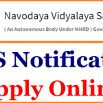 NVS TGT PGT Recruitment 2018 || Apply for 229 TGT PGT Posts at www.nvshq.org