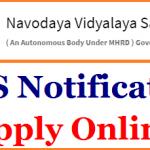 NVS LDC Recruitment 2017 Apply for 683 Hindi Translator, Stenographer, Female Staff Nurse, Posts at www.nvshq.org