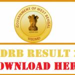WBGDRB Result 2017 Download WBGDRB Group D Exam Result at www.wbgdrb.applythrunet.co.in
