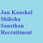 Jan Kaushal Shiksha Sansthan Recruitment 2018 Apply for Teachers Posts @jankaushal.org.in