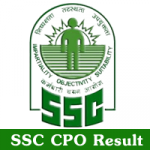 SSC CPO Result 2018 Download SSC CPO Tier II CAPF SI ASI Cutoff Marks at ssc.nic.in