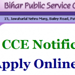 Bihar PSC 64th CCE Recruitment 2018 Apply for 1255 Combined Preliminary Exam Jobs at onlinebpsc.bihar.gov.in