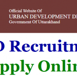 UDD Uttarakhand Specialist Recruitment 2017 Apply for 46 Expert, Specialist and Other Various Posts at www.udd.uk.gov.in