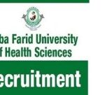 Baba Farid University Lecturer Recruitment 2018 Apply Online for 21 Professor Vacancies at www.bfuhs.ac.in
