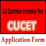 CUCET Application Form 2018 Check Central University CET Exam Notification at www.cucet2017.co.in