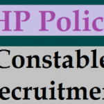HP Police Constable Recruitment 2018 Apply for Himachal Pradesh SI, ASI Posts at www.admis.hp.nic.in