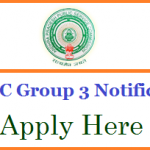 APPSC Group 3 Recruitment 2018 Apply for Andhra Pradesh PSC Panchayat Secretary Posts at www.psc.ap.gov.in