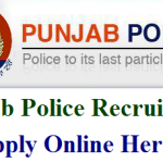 Punjab Police Constable Recruitment 2018 Apply for 12000 Sub-Inspector Vacancy at www.punjabpolice.gov.in