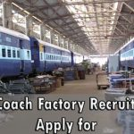 Rail Coach Factory Technician Recruitment 2018 Apply Online for 92 RCF Technician Posts at www.rcf.indianrailways.gov.in