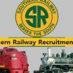 SR Apprentice Recruitment 2018 Apply for 2652 Apprentices Posts at www.sr.indianrailways.gov.in