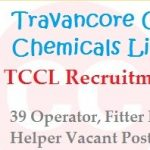 TCCL Helper Recruitment 2018 Apply for 39 Helper & Other Vacancies Posts at www.tcckerala.com