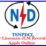 TSNPDCL JLM Recruitment 2018 Apply for 2553 Junior Lineman Notification at www.tsnpdcl.cgg.gov.in
