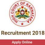 Karnataka High Court Recruitment 2018 Apply for 101 Civil Judge Posts at www.karnatakajudiciary.kar.nic.in