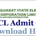 GSECL Vidyut Sahayak Admit Card 2018 Download GSECL Junior Engineer Hall Ticket at www.gsecl.com