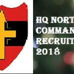 HQ Northern Command Recruitment 2018 Apply For 130 Tradesman Mate, Fireman Posts