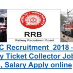 RRB Ticket Collector Recruitment 2018 Apply for 4000 Ticket Collector and Guard Vacancies at www.indianrailway.gov.in